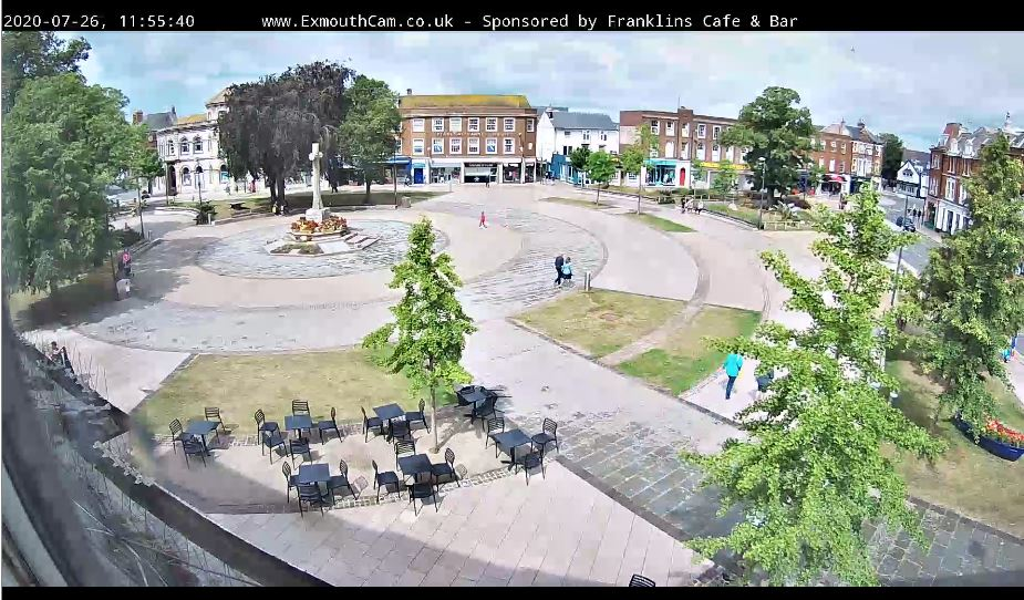 Exmouth Strand Live Webcam
