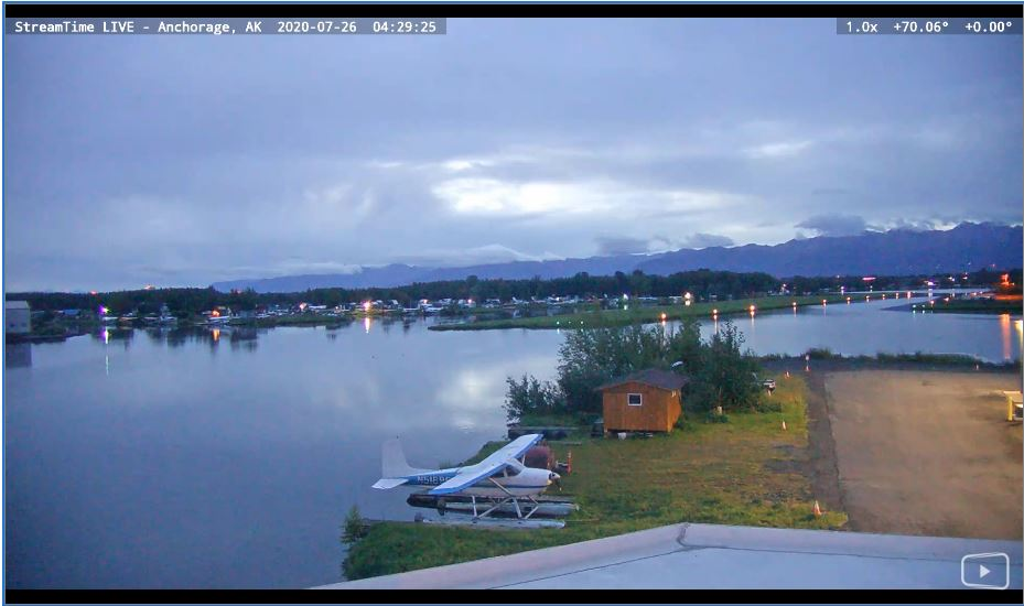 Lake Hood Live Webcam