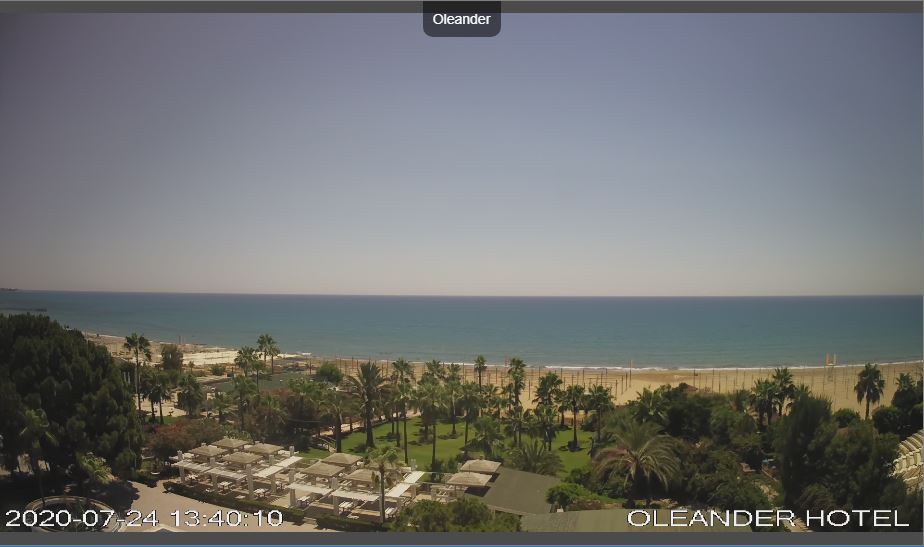 Oleander Hotel Live Webcam