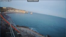 Freshwater Bay Live Webcam, Albion Hotel, Isle of Wight