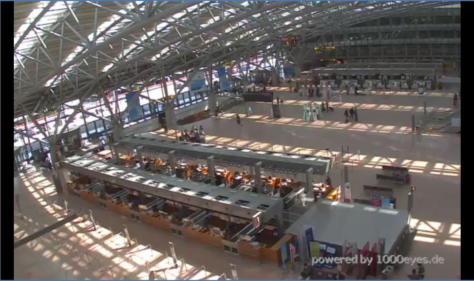 Hamburg Airport Live Webcam