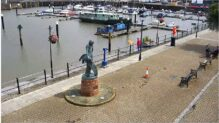Watchet Live Webcam, Harbour HD, Somerset