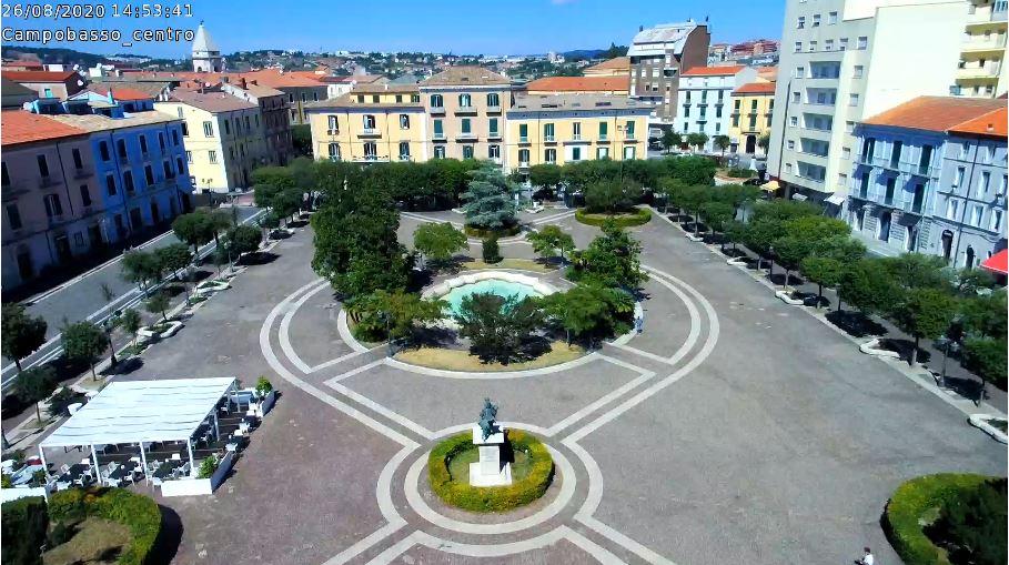 Campobasso Live Webcam HD, vittorio emanuele square Italy