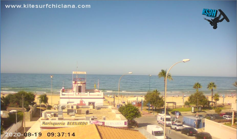 Chiclana Beach Live Webcam