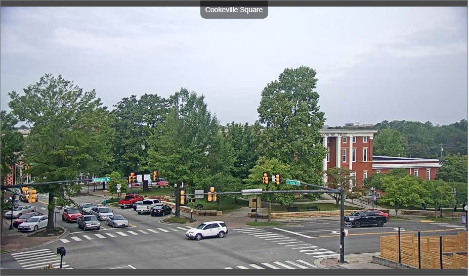 Cookeville Square Live Webcam