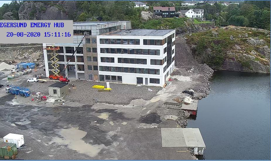 Egersund Town Live Webcam
