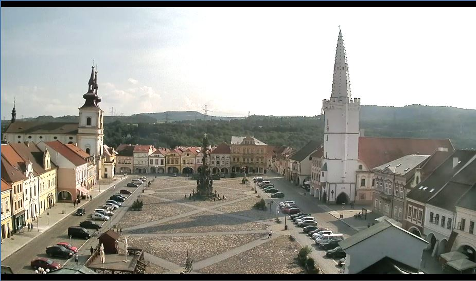 Kadaň Square Live Webcam