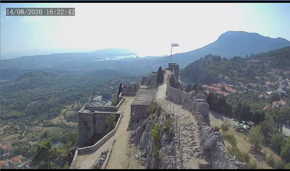Klis Fortress Live Webcam HD