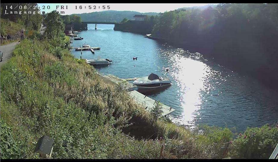 Langangen Live Webcam HD