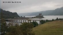 Live Webcam Scottish Highlands, Eilean Donan, HD Scotland