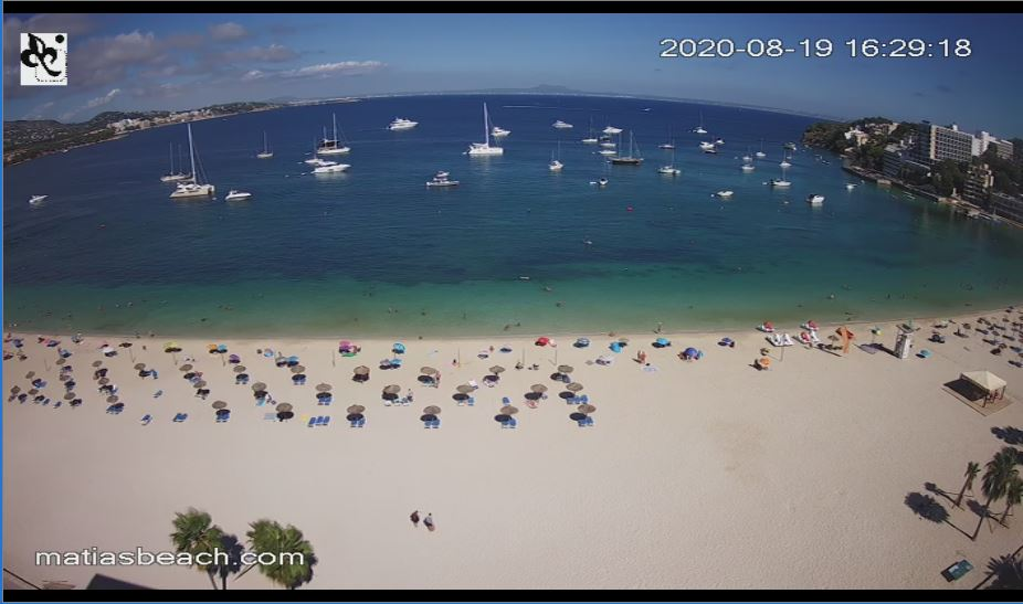 Live Webcam Son Matias Beach