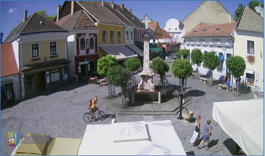 Live Webcam Szentendre Town