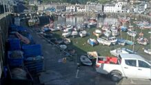 Mevagissey Harbour Webcam, HD Cornwall