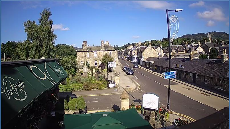 Pitlochry Live Webcam HD