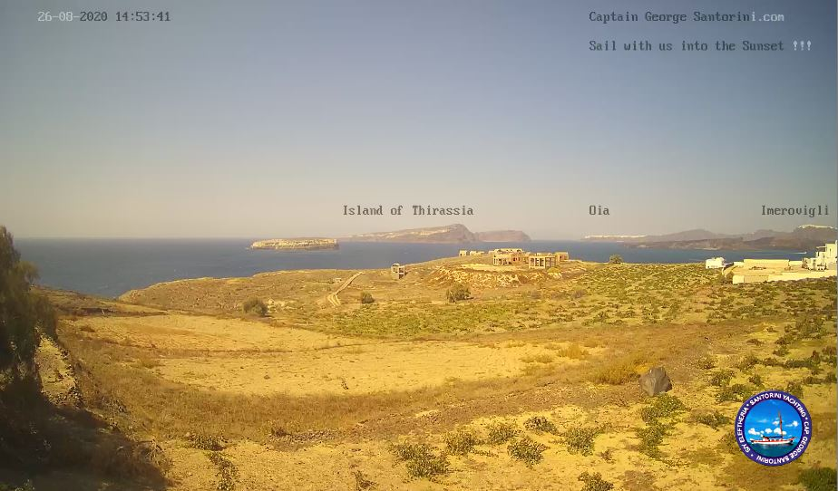 Santorini Live Webcam HD