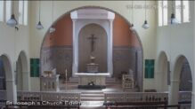 St Joseph's Church Live Webcam, Ederny, Northern Ireland
