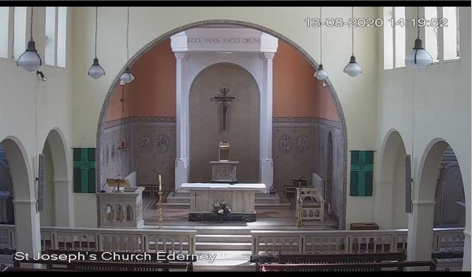 St Joseph's Church Live Webcam