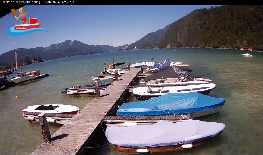 Strobler Bootsvermietung Live Webcam