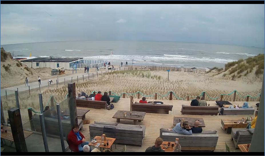 Texel Paal 9 Beach Live Webcam
