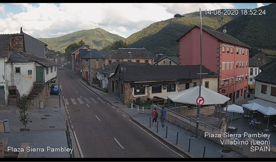 Villablino Live Webcam HD