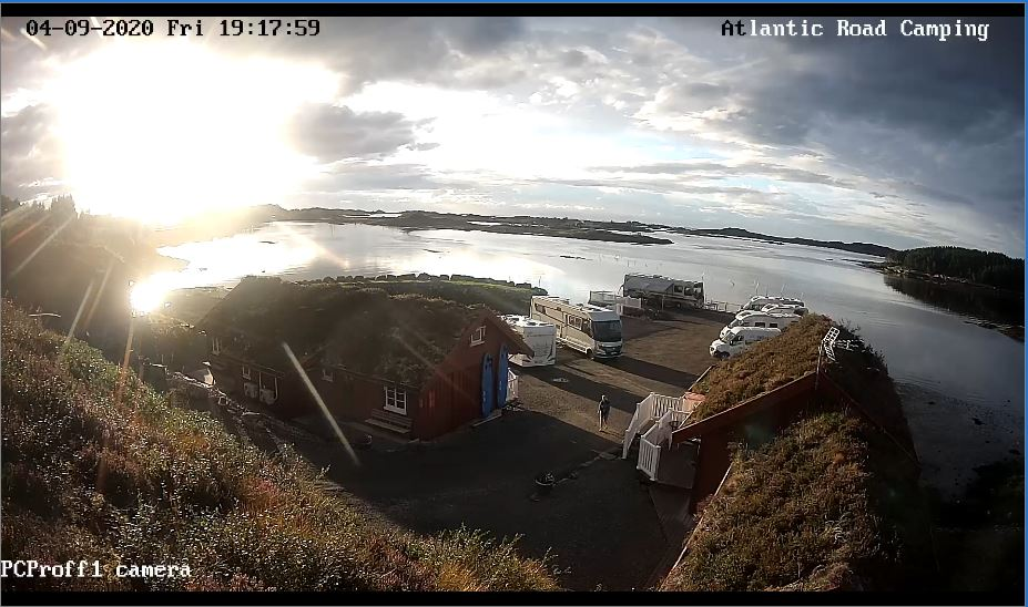 Atlantic Road Cabins Live Camera