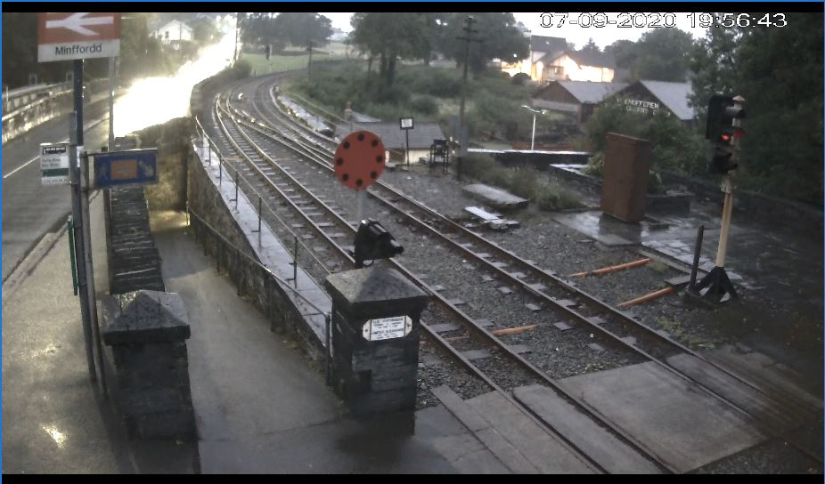 Minffordd Station Live Webcam