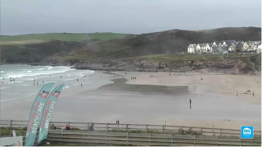 Polzeath Beach Live Webcam
