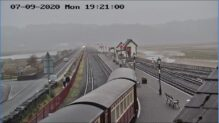 Porthmadog Railway Live Camera, Wales
