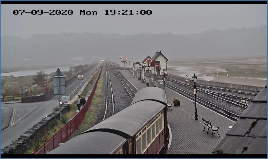 Porthmadog Railway Live Camera