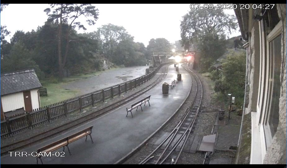 Tan y Bwlch Station Live Camera