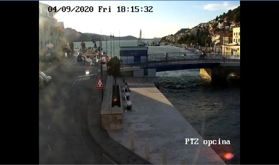 Tisno Bridge Live Webcam