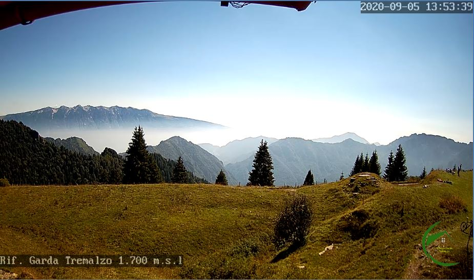 Tremalzo Pass Live webcam