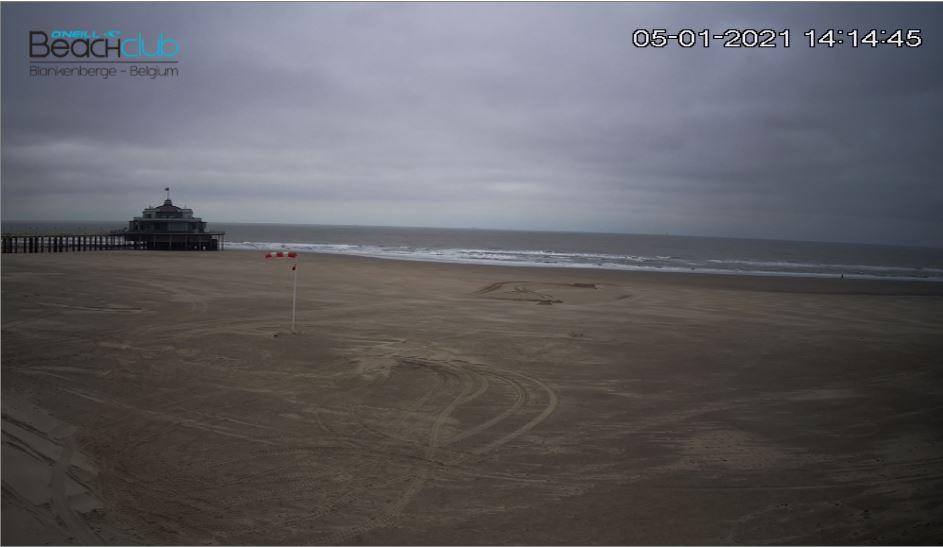 Blankenberge Beach Live Cam