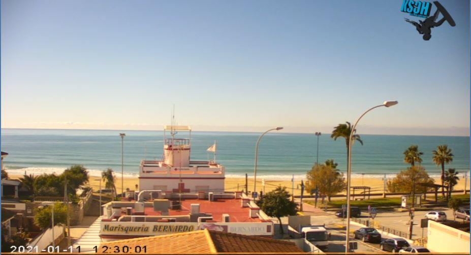 Chiclana de la Frontera Live Beach Cam
