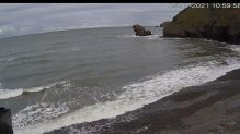 Live Cam Wales, Llangrannog Beach, Cardigan Bay