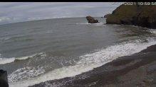 Live Cam Wales, Llangrannog Beach, Cardigan Bay