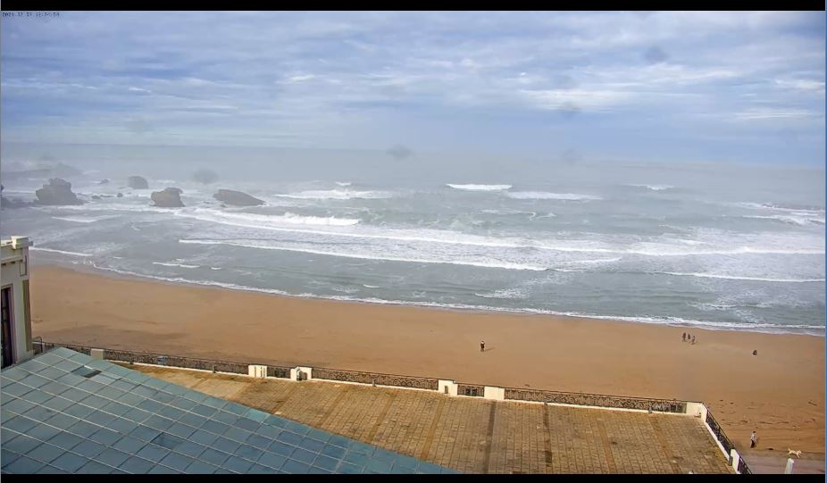 Amazing HD Biarritz Beach Live Webcam, France