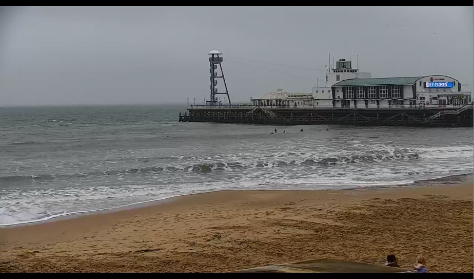 Amazing HD Bournemouth Beach Live Webcam, England