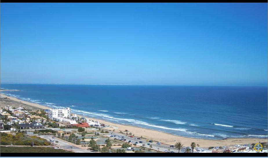 Amazing HD Live Webcam La Mata Beach, Spain